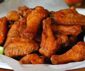 Wings.   Boneless and Bone in in a variety of flavors. From hot to mild, we have something for everyone!
